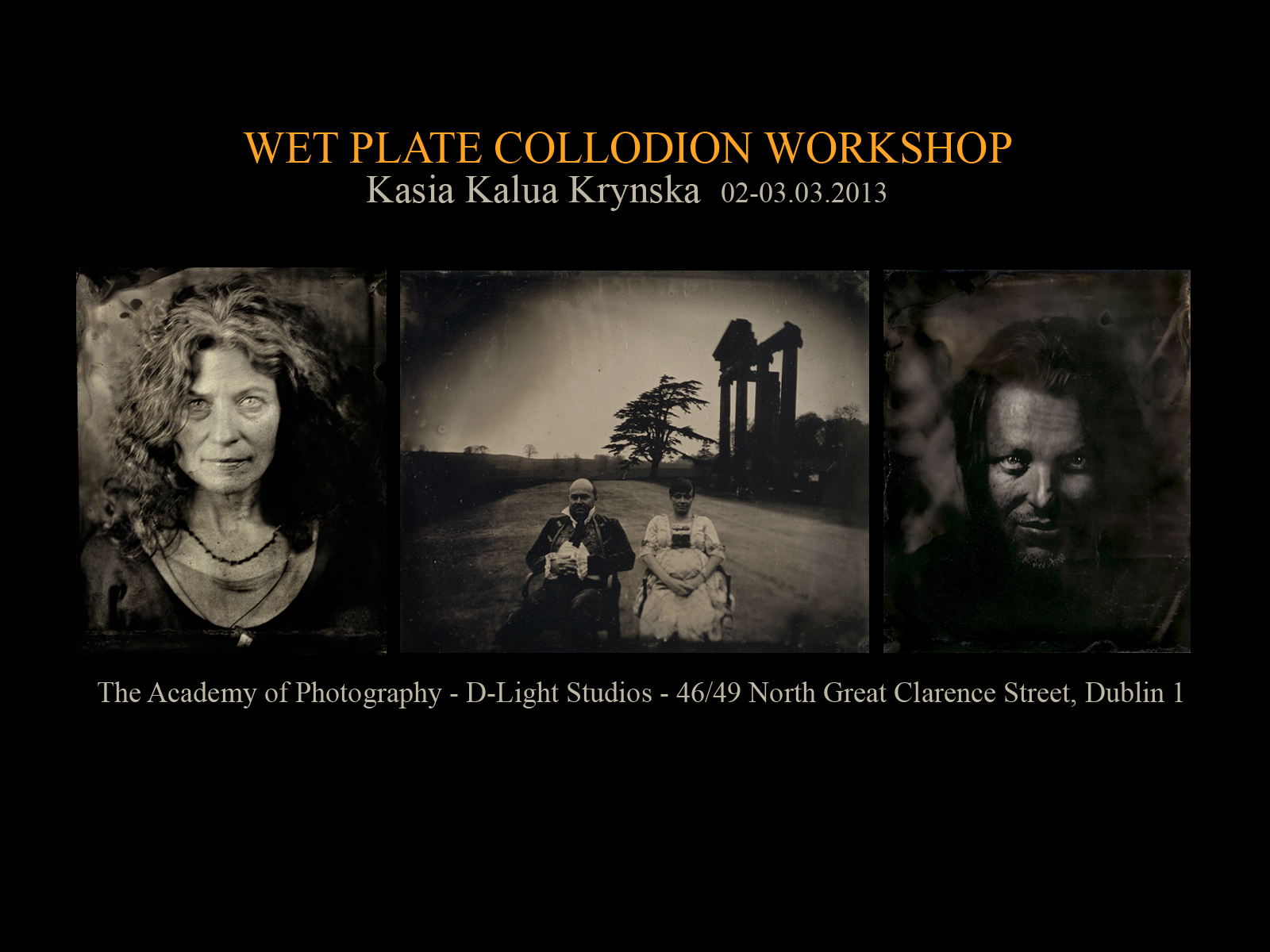 workshop wet plate collodion krynska