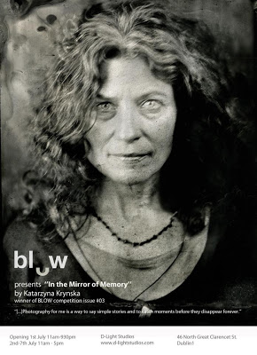wet plate collodion, kasia kalua krynska, alternative process, Blow, D-light Studios